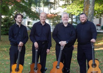 The Grand Rapids Guitar Quartet