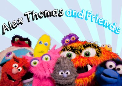 Alex Thomas and Friends Interactive Puppet Shows