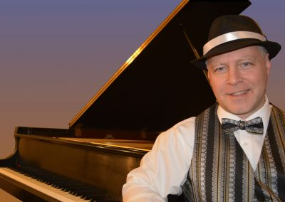 Peter Bergin, Ragtime Pianist
