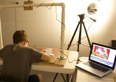 Alex Thomas and Friends Stop-Motion Animation Workshops