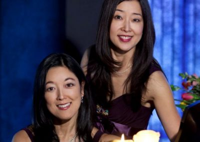 Mack Sisters, Duo Pianists, Tomoko and Yuki Mack
